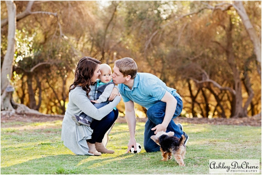 Toddler Boy Family Photos at Balboa Park